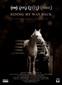 RIDING MY WAY BACK hr poster